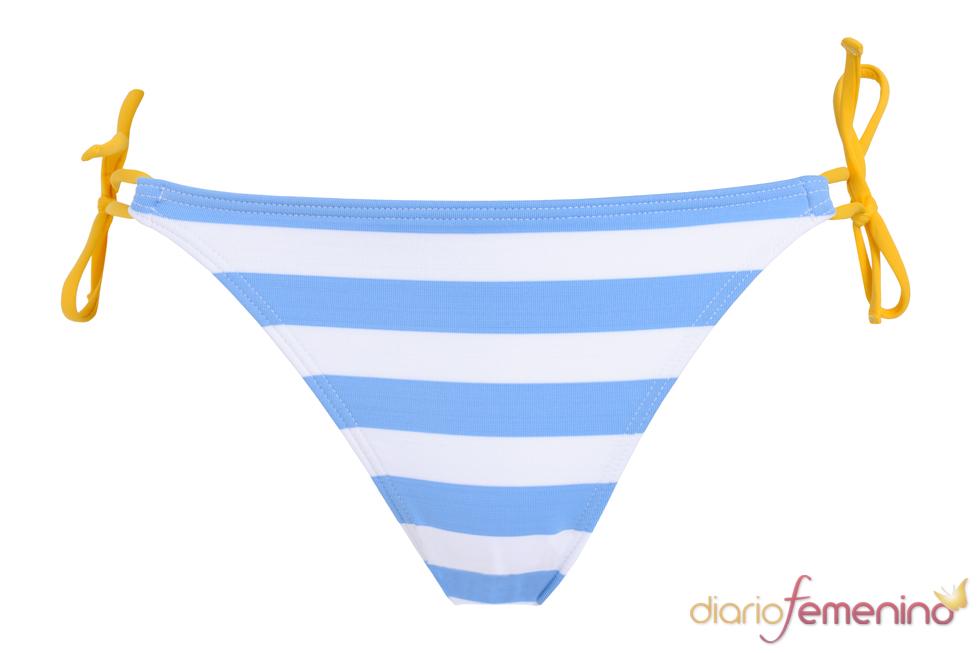 Bikini para apoyar a Argentina en el Mundial