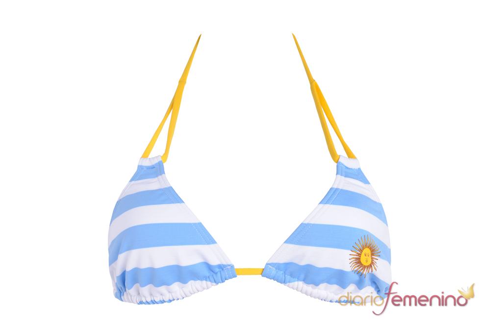 Bikini de la selección argentina de Etam