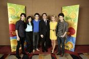 Nicole Anderson con los Jonas Brothers
