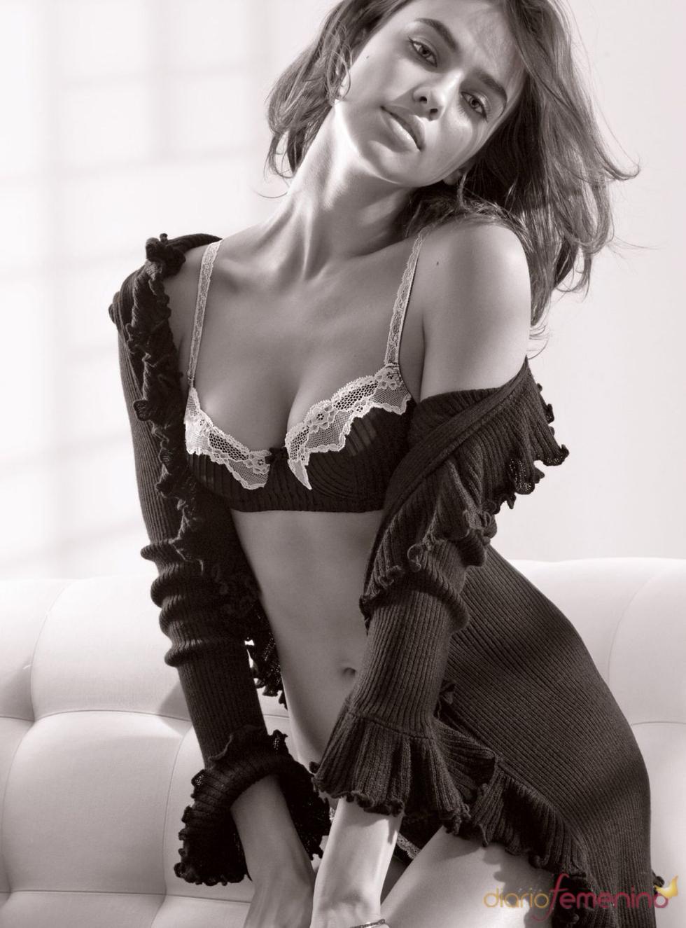 La top model Irina Shayk desnuda