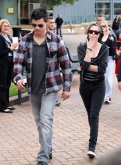 Kristen Stewart y Taylor Lautner, de paseo por Sidney