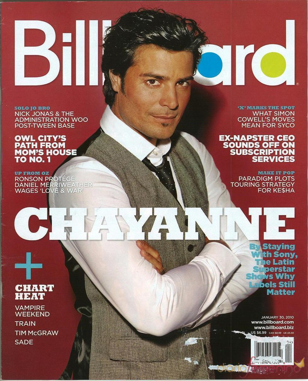 Chayanne, un chico de portada