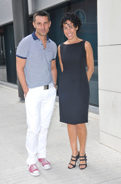 Jesús Vázquez y Nina juntos en 'Operación Triunfo 2010'