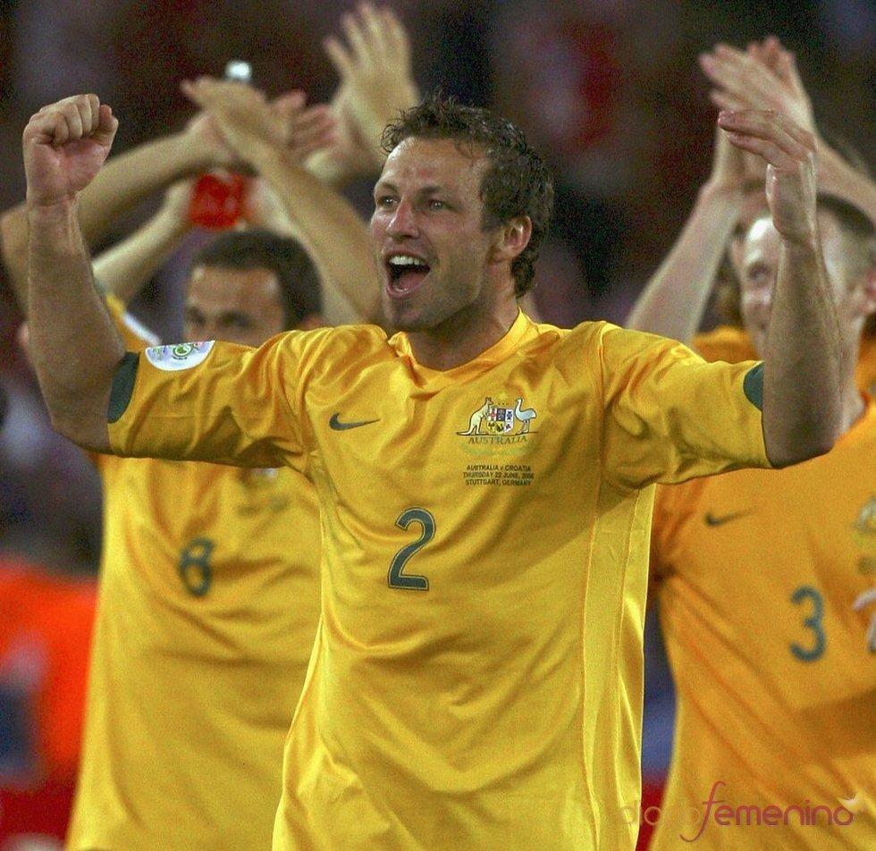 Lucas Neill, de la selección australiana