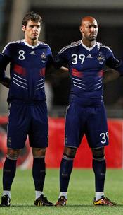 Yoann Gourcuff, de la selección francesa
