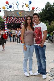 Elena Furiase y Leo Perrugoría