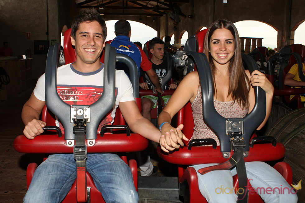 Elena Furiase y su novio, Leo Perrugoría