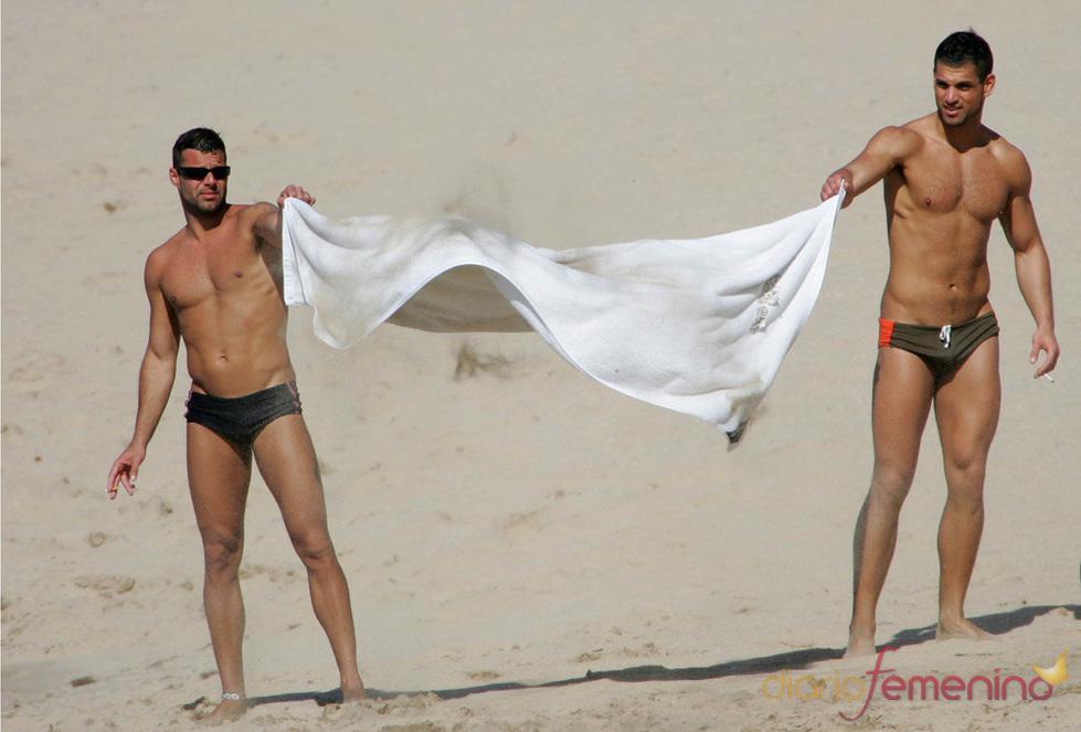 Ricky Martin con su novio Carlos Gónzalez