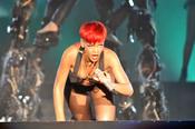 Rihanna, provocadora en Rock in Rio 2010