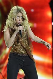Shakira, aclamada en Rock in Rio 2010