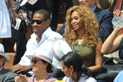 Beyoncé y Jay-Z asisten la final de Roland Garros 2010