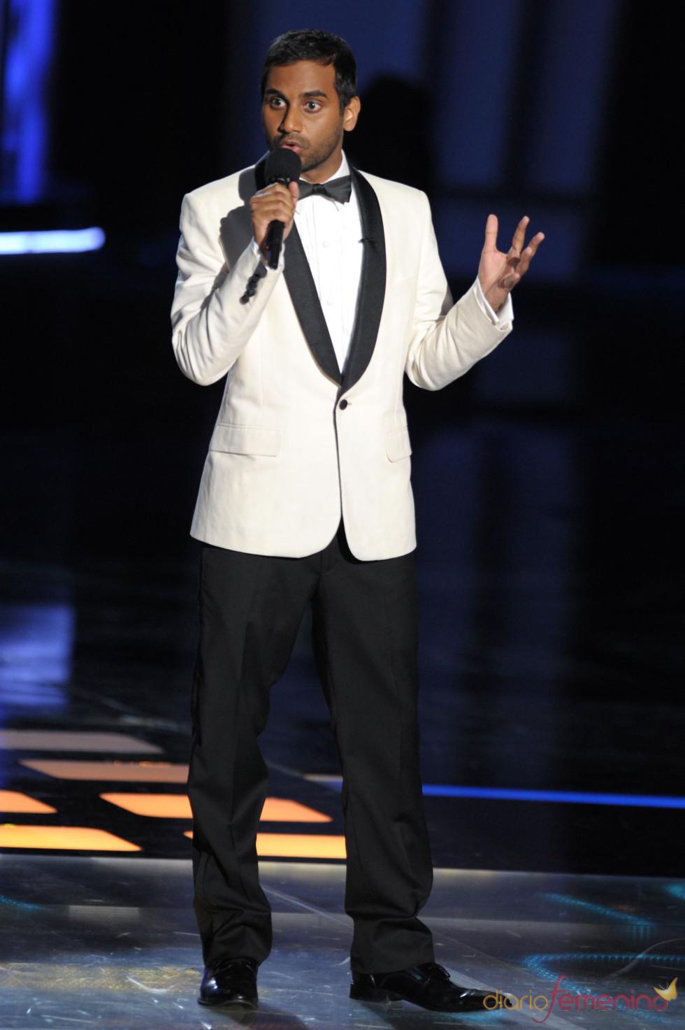 Aziz Ansari, presentador de los MTV Movie Awards 2010