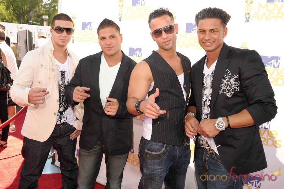 Integrantes de 'Jersey Shore' en los MTV Movie Awards 2010