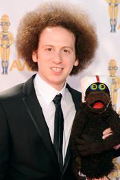Josh Sussman en los MTV Movie Awards 2010