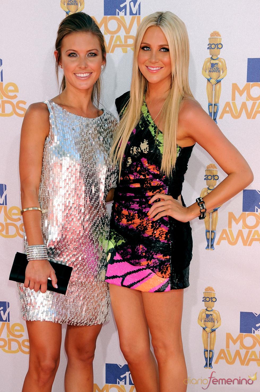 Stephanie Pratt y Audrina Patridge en los MTV Movie Awards
