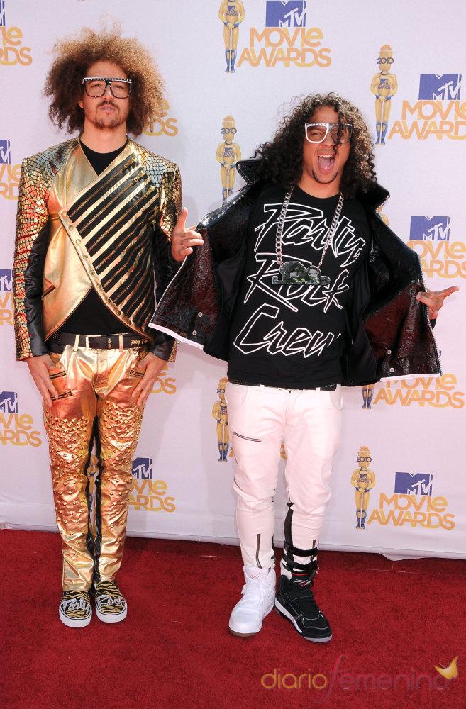 Lmfao en los MTV Movie Awards 2010