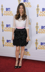 Jessica Biel en los MTV Movie Awards 2010