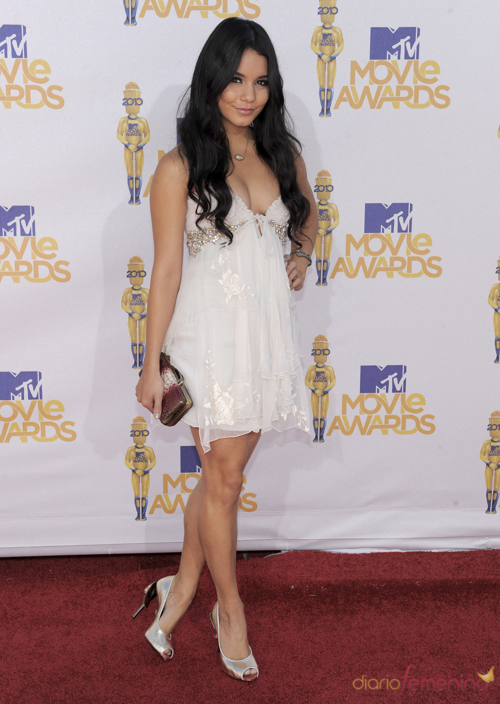 Vanessa Hudgens en los MTV Movie Awards 2010