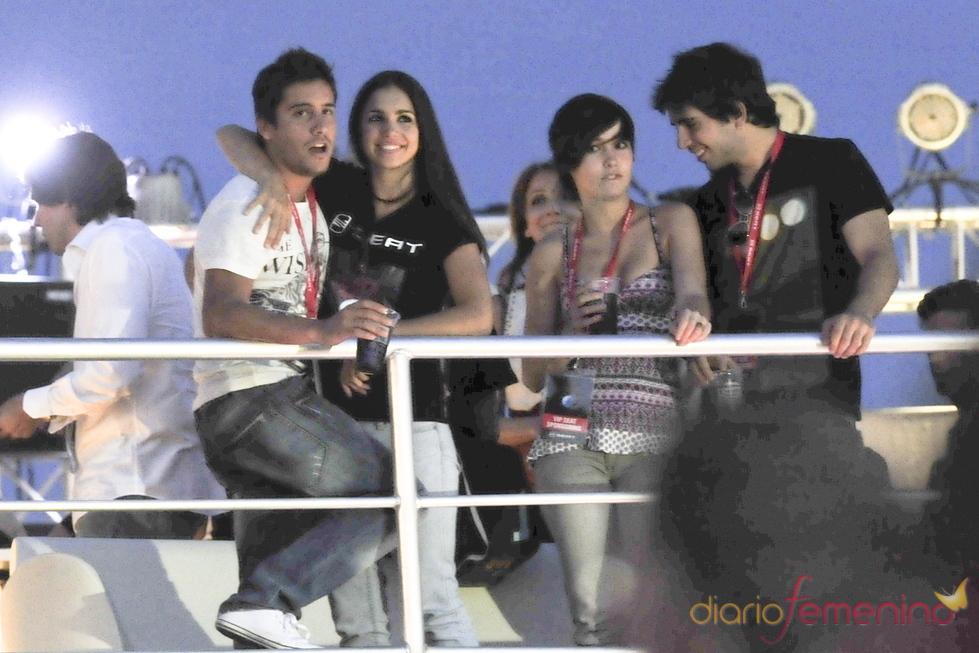 Elena Furiase y Leo Perrugoría: amor en el Rock in Rio 2010