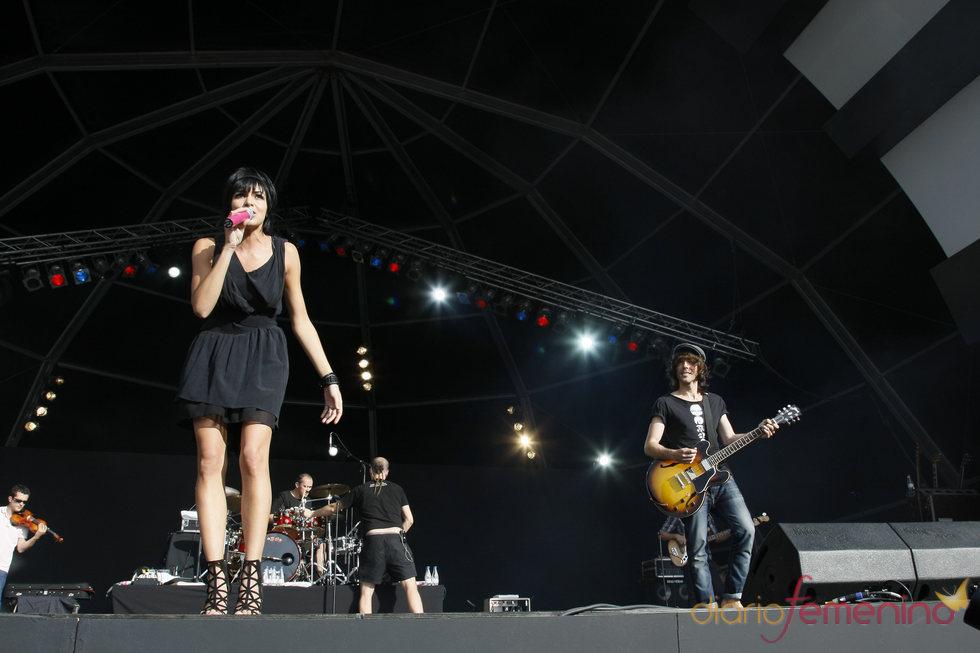 Actuación de El sueño de morfeo en el Rock in Rio 2010