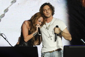 Miley Cyrus y David Bisbal: sorpresa en el rock in Rio 2010