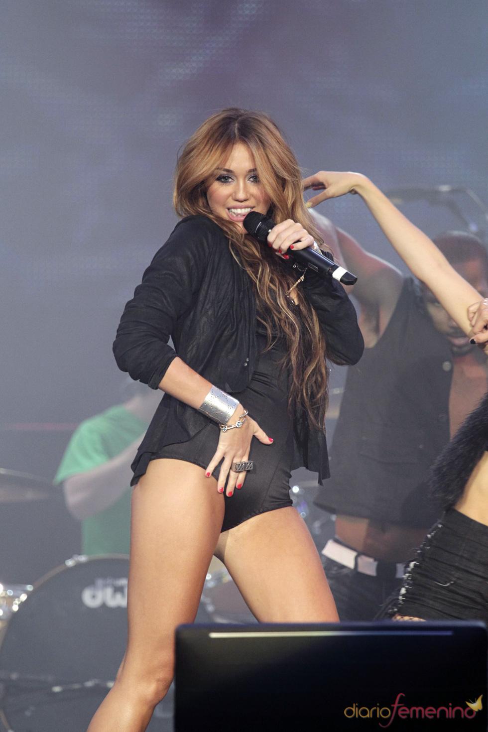 Miley Cyrus, más madura en el rock in Rio 2010
