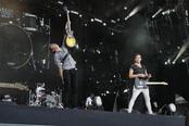 McFly actúan en el Rock in Rio Madrid 2010
