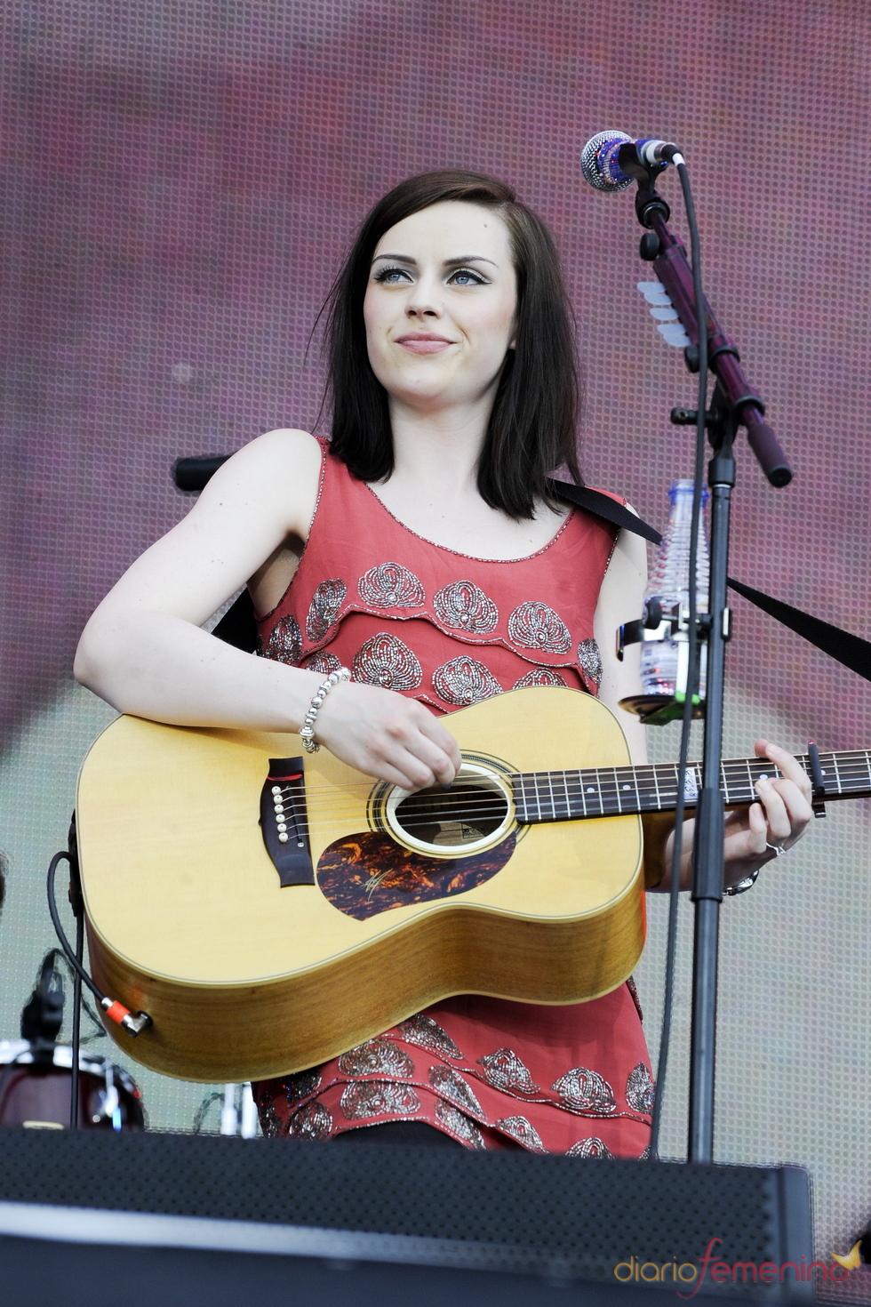 Amy Macdonald en el Rock in Rio Madrid 2010