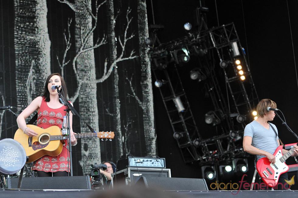 Actuación de Amy Macdonald en el Rock in Rio Madrid 2010