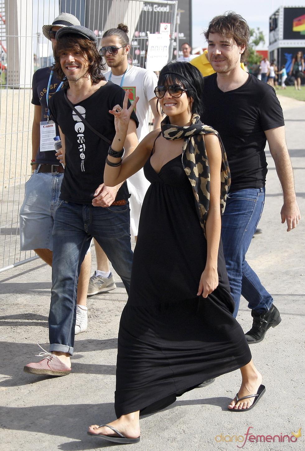 El sueño de Morfeo pasean por el Rock in Rio Madrid 2010