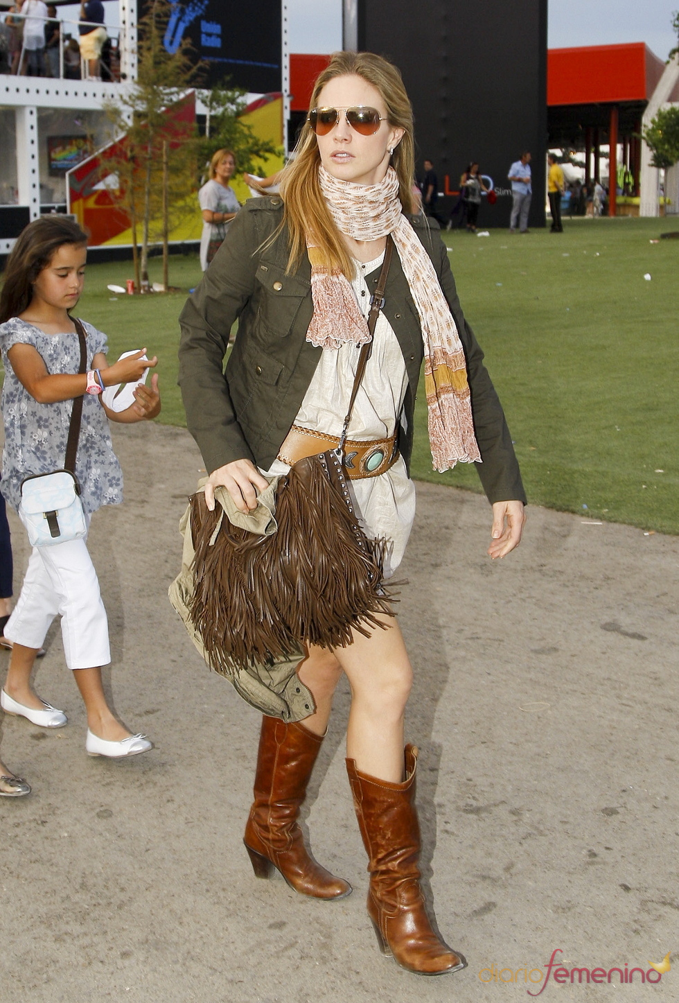 Genoveva Casanova en el Rock in Rio Madrid 2010