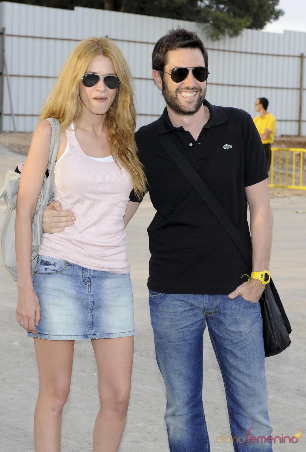 Elena Ballesteros y Dani Mateo en el Rock in Rio Madrid 2010