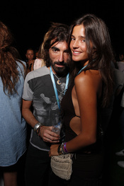Javier Hidalgo y Malena Costa en el Rock in Rio Madrid 2010