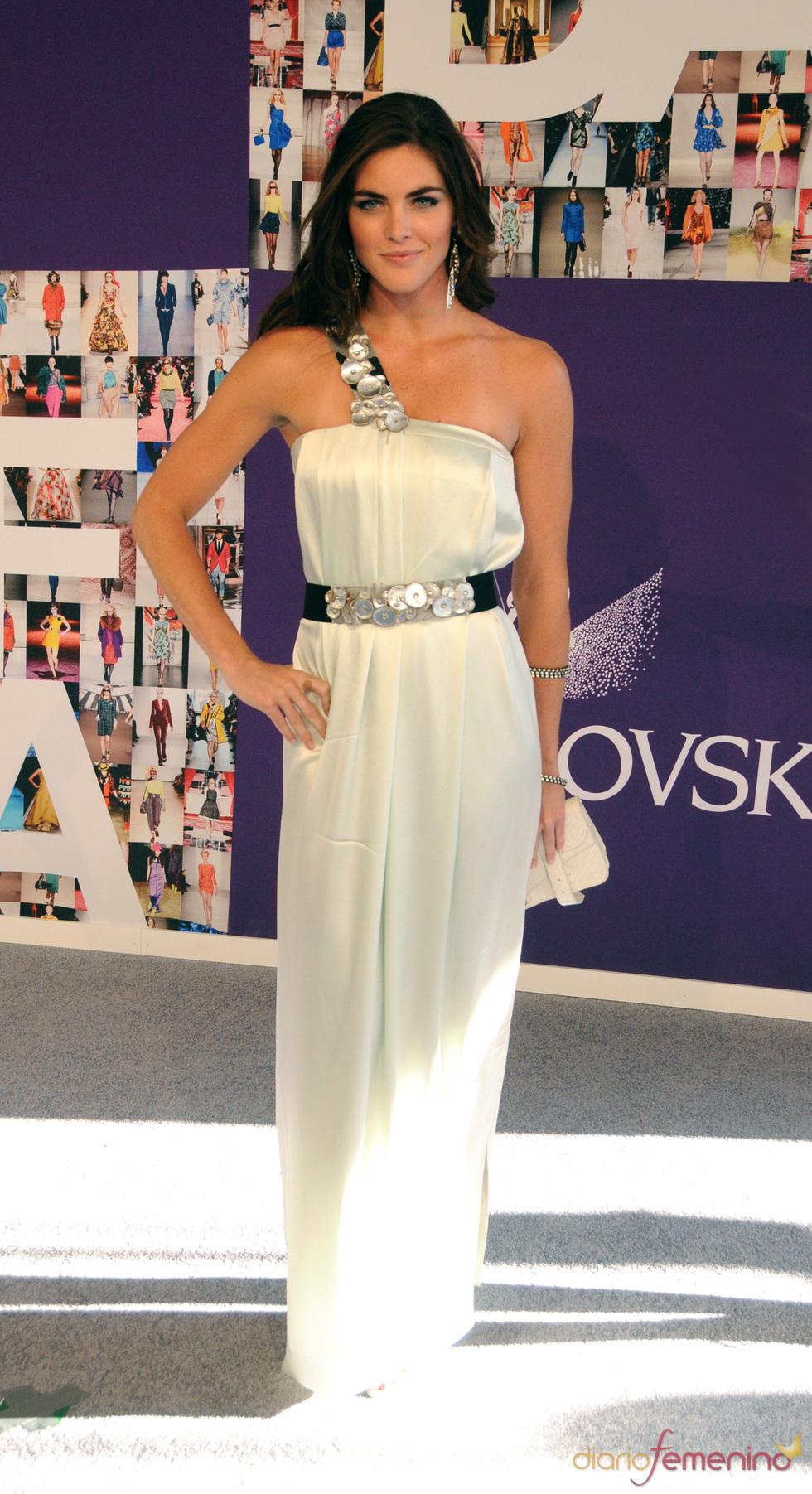 Hilary Rhoda en los Premios CFDA de la Moda
