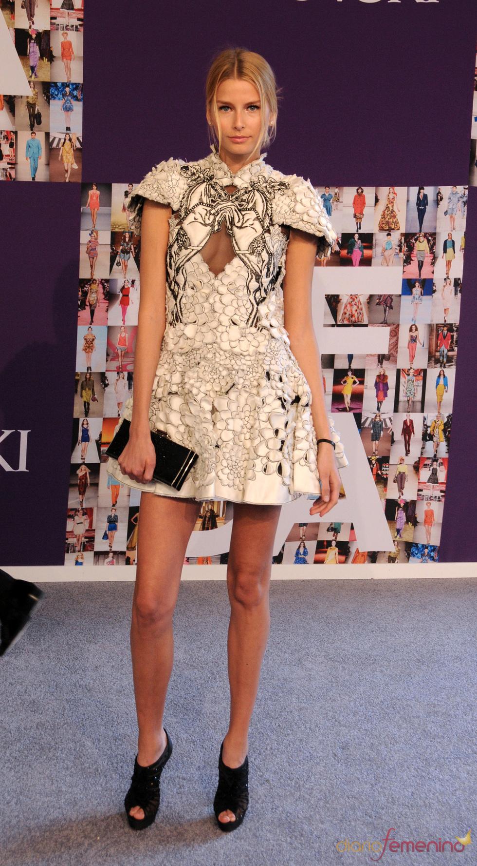 Hana Soukupova en los Premios CFDA de la Moda