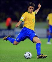 Kaká en el Mundial de Alemania 2006