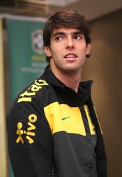 Kaká es el jugador más guapo de la selección brasileña