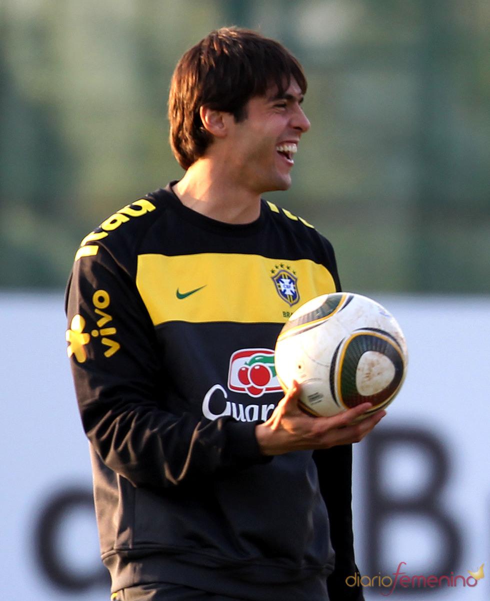 Kaká está muy feliz con Brasil en el Mundial de Sudáfrica 2010