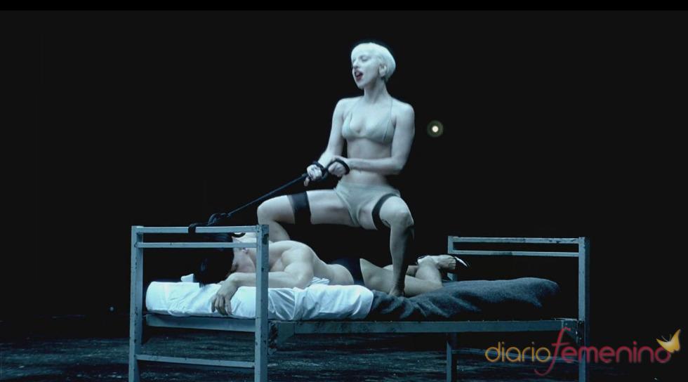 Lady Gaga, una dominatrix en 'Alejandro'