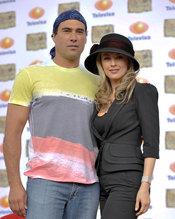 Los actores Eduardo Yáñez y Aracely Arámbula