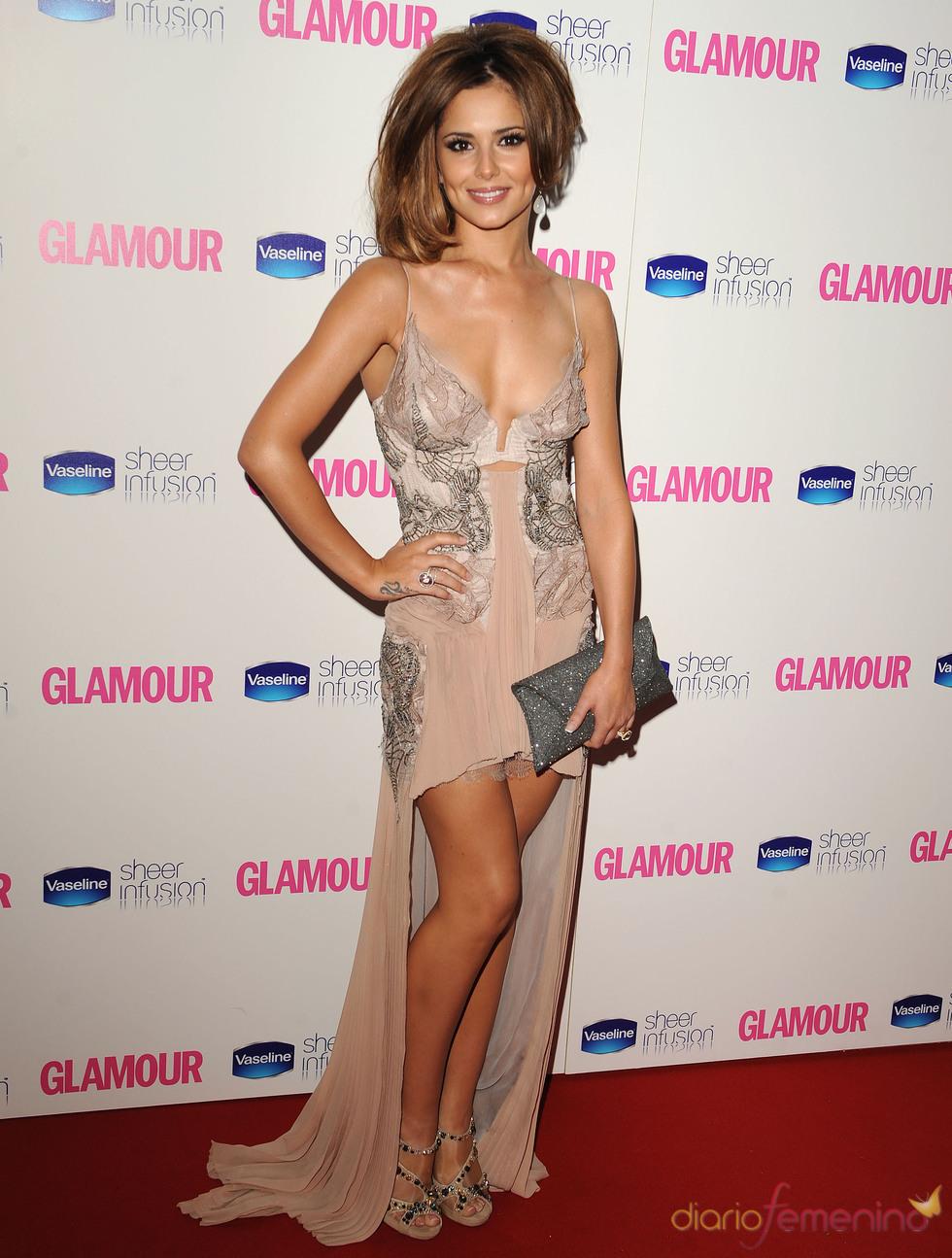 Cheryl Cole en los Premios Glamour 2010