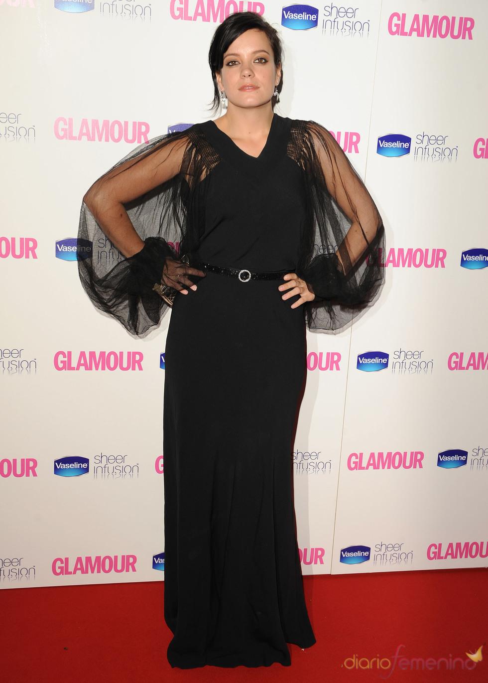Lily Allen en los Premios Glamour 2010