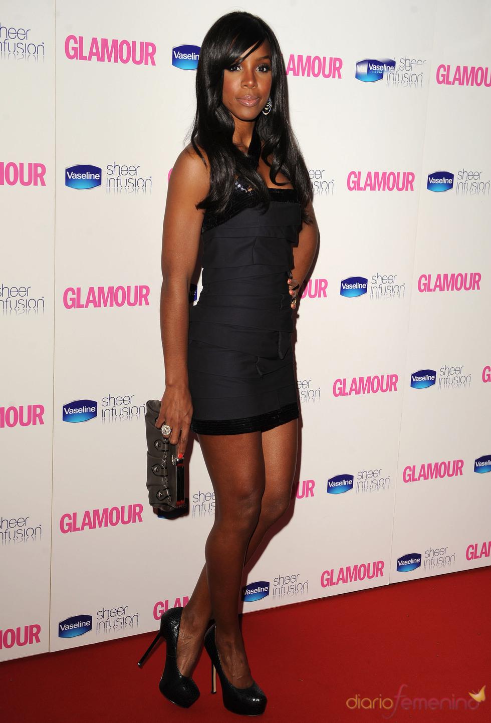 Kelly Rowland en los Premios Glamour 2010
