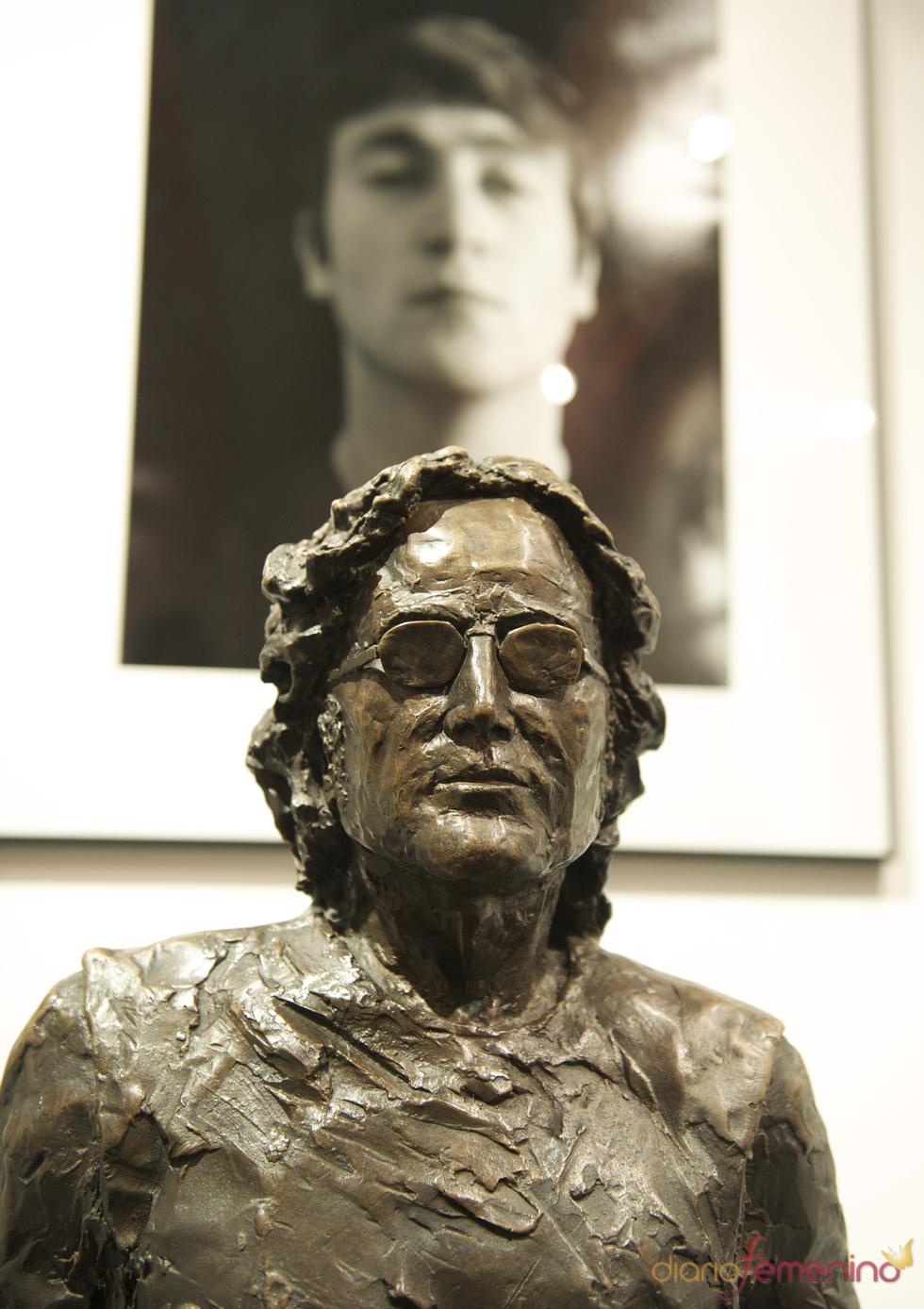 Estatua en el museo Beatles Story , Liverpool