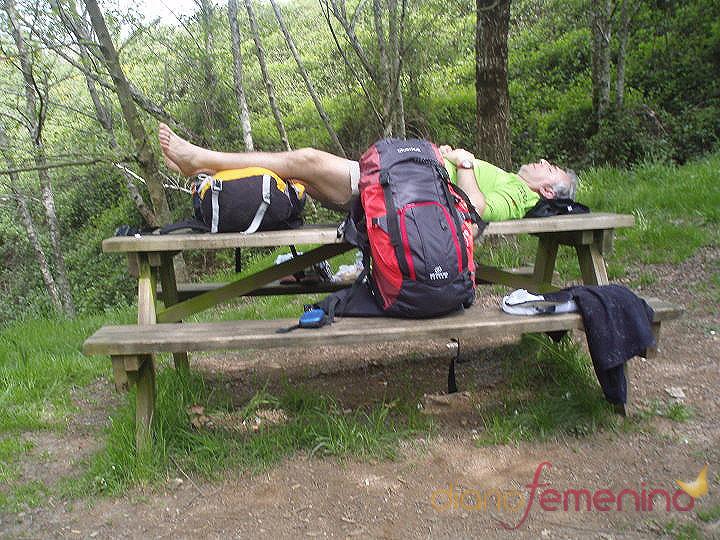 Descanso y relajación en el Camino de Santiago