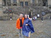 La emocionante llegada a la Catedral de Santiago de Compostela