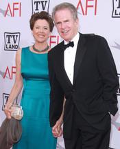 Warren Beatty y Annette Bening en los Premios AFI 210