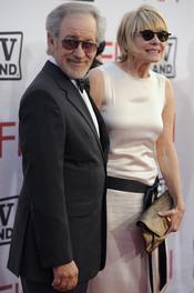 Steven Spielberg y su mujer en los Premios AFI 210