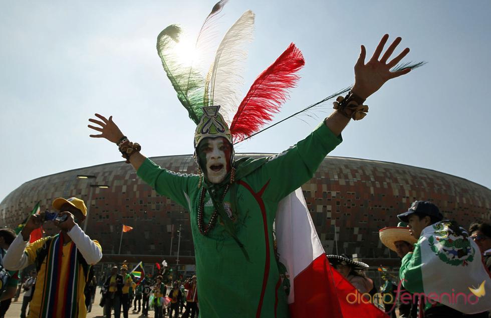 La pasión por México en la ceremonia de apertura del Mundial 2010