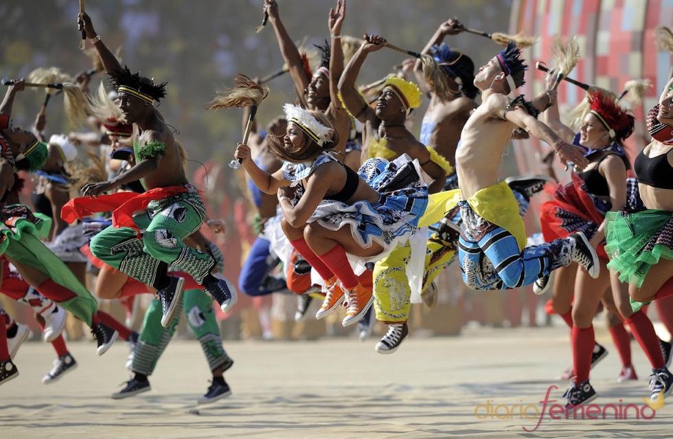 Cultura y arte africana en la fiesta inaugural de Sudáfrica 2010